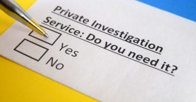 Private Investigator Service Image