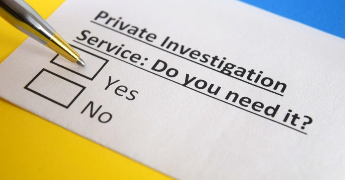 Private Investigator Tiburon CA Firm